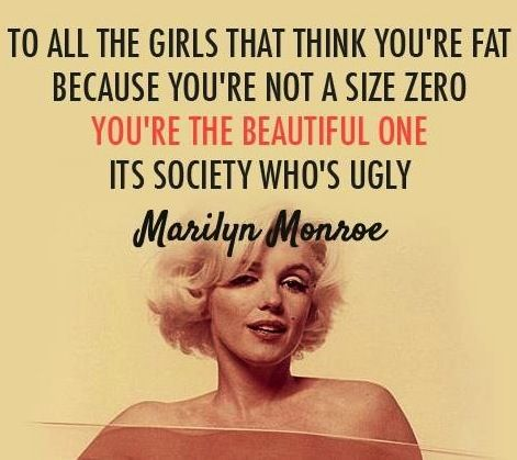 Marilyn Monroe Beauty Quotes